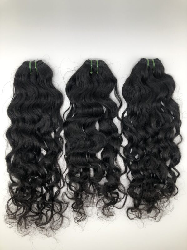 Raw Indian Curly Bundles