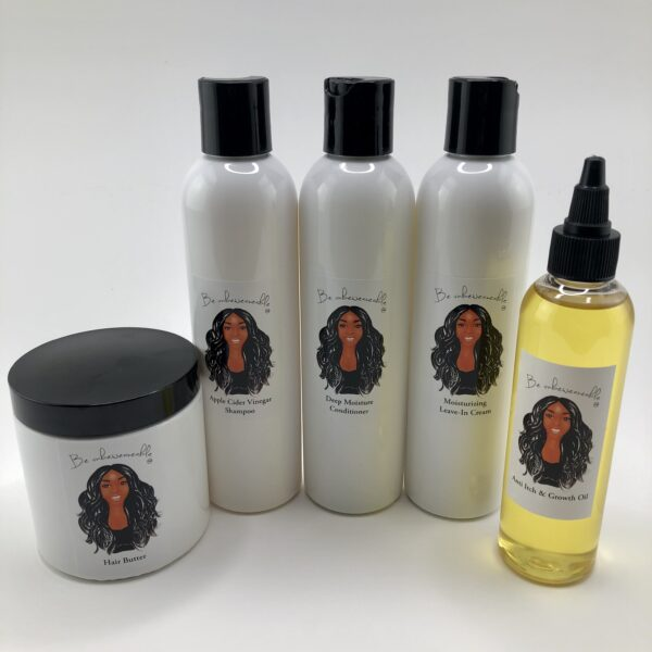 Natural Hair Care Kit